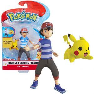 Figura de Ash y Pikachu - Los mejores muñecos y figuras de Pikachu - Muñeco de Pokemon