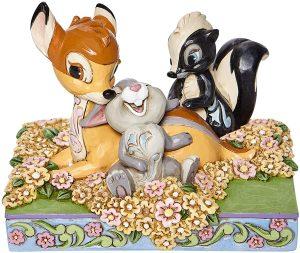 Figura de Bambi and Friends de Disney Traditions - Los mejores muñecos y figuras de Bambi - Muñeco de Disney