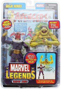 Figura de Baron Zemo de Marvel Legends - Los mejores muñecos y figuras de Zemo - Muñeco de Marvel