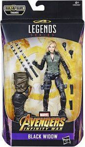 Figura de Black Widow de Avengers Legends Series - Los mejores muñecos y figuras de Black Widow - Muñeco de Marvel