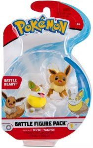 Figura de Eevee y Yamper de Pokemon Battle - Los mejores muñecos y figuras de Eevee - Muñeco de Pokemon