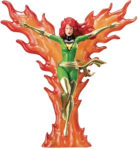 Figura de Jean Grey de Kotobukiya - Los mejores muñecos y figuras de Jean Grey - Muñeco de Marvel