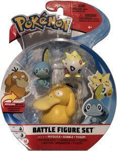 Figura de Psyduck Sobble Togepi de Pokemon Battle - Los mejores muñecos y figuras de Psyduck - Muñeco de Pokemon