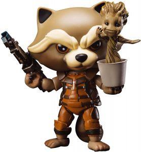 Figura de Rocket Raccoon de Beast Kingdom - Los mejores muñecos y figuras de Rocket Raccoon - Muñeco de Marvel