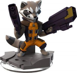 Figura de Rocket Raccoon de Disney Infinity - Los mejores muñecos y figuras de Rocket Raccoon - Muñeco de Marvel