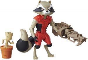 Figura de Rocket Raccoon de Marvel Classic - Los mejores muñecos y figuras de Rocket Raccoon - Muñeco de Marvel
