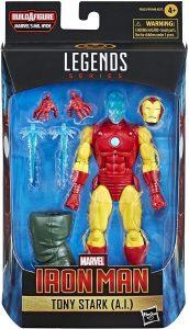 Figura de Tony Stark IA de Hasbro - Los mejores muñecos y figuras de Shang-Chi - Muñeco de Marvel