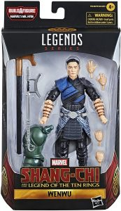 Figura de Wenwu clásico de Hasbro - Los mejores muñecos y figuras de Shang-Chi - Muñeco de Marvel