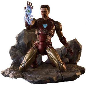 Figura de Yo soy Iron man de Bandai - Los mejores muñecos y figuras de Iron man - Muñeco de Marvel