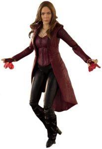 Figura de la Bruja Escarlata de Bandai - Los mejores muñecos y figuras de Wanda - Muñeco de Marvel