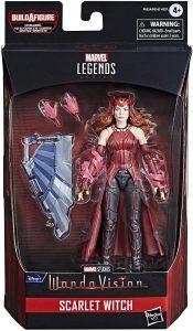 Figura de la Bruja Escarlata de Wandavision de Hasbro - Los mejores muñecos y figuras de Wanda - Muñeco de Marvel