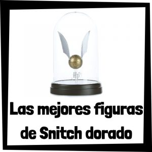 Figuras coleccionables de Snitch dorada