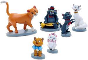 Set de figuras de Los Aristogatos - Los mejores muñecos y figuras de Los Aristogatos - Muñeco de Disney