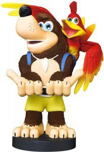 Cable guy Banjo-Kazooie de Exquisite Gaming - Figuras para sujetar cables de colección - Soporte de sujeción y carga