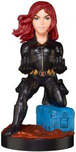 Cable guy Black Widow de Exquisite Gaming - Figuras para sujetar cables de colección - Soporte de sujeción y carga