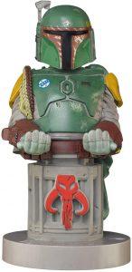 Cable guy Boba Fett de Exquisite Gaming - Figuras para sujetar cables de colección - Soporte de sujeción y carga