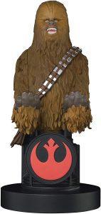 Cable guy Chewbacca de Exquisite Gaming - Figuras para sujetar cables de colección - Soporte de sujeción y carga