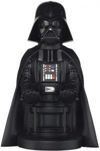 Cable guy Darth Vader de Exquisite Gaming - Figuras para sujetar cables de colección - Soporte de sujeción y carga