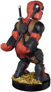 Cable guy Deadpool de Exquisite Gaming - Figuras para sujetar cables de colección - Soporte de sujeción y carga