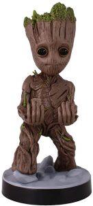 Cable guy Groot de Exquisite Gaming - Figuras para sujetar cables de colección - Soporte de sujeción y carga