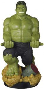 Cable guy Hulk de Exquisite Gaming - Figuras para sujetar cables de colección - Soporte de sujeción y carga