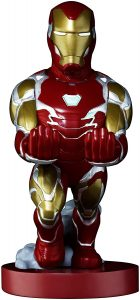 Cable guy Iron man de Exquisite Gaming - Figuras para sujetar cables de colección - Soporte de sujeción y carga