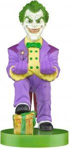 Cable guy Joker de Exquisite Gaming - Figuras para sujetar cables de colección - Soporte de sujeción y carga