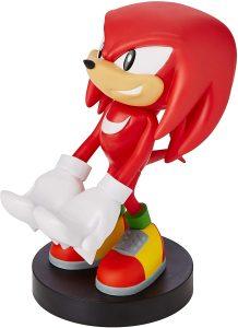 Cable guy Knuckles Sonic de Exquisite Gaming - Figuras para sujetar cables de colección - Soporte de sujeción y carga