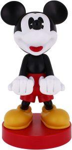 Cable guy Mickey Mouse de Exquisite Gaming - Figuras para sujetar cables de colección - Soporte de sujeción y carga