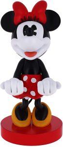 Cable guy Minnie Mouse de Exquisite Gaming - Figuras para sujetar cables de colección - Soporte de sujeción y carga