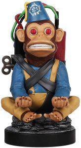 Cable guy Monkey Bomb Call of Duty de Exquisite Gaming - Figuras para sujetar cables de colección - Soporte de sujeción y carga