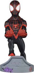 Cable guy Spider-man Miles Morales de Exquisite Gaming - Figuras para sujetar cables de colección - Soporte de sujeción y carga