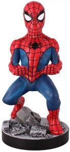 Cable guy Spider-man clásico de Exquisite Gaming - Figuras para sujetar cables de colección - Soporte de sujeción y carga