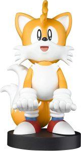 Cable guy Tails Sonic de Exquisite Gaming - Figuras para sujetar cables de colección - Soporte de sujeción y carga