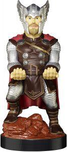 Cable guy Thor de Exquisite Gaming - Figuras para sujetar cables de colección - Soporte de sujeción y carga