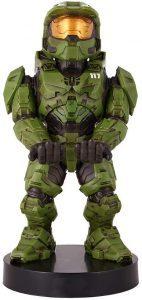 Cable guy de Masterchief Halo Infinite de Exquisite Gaming - Figuras para sujetar cables de colección - Soporte de sujeción y carga