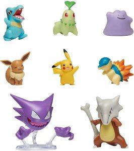 Figura de Ditto y otros Pokemon de Bandai - Las mejores figuras de Pokemon
