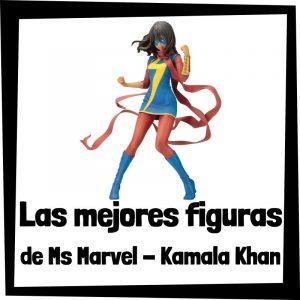 Figuras de acción y muñecos de colección de Ms. Marvel - Kamala Khan - Juguetes de personajes de Kamala Khan