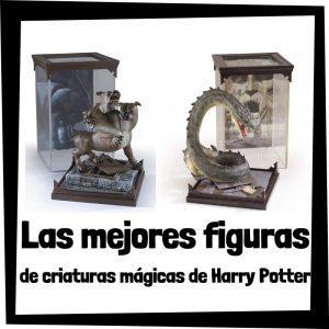 Figuras de criaturas mágicas de Harry Potter - Las mejores figuras de Magical Creatures de Harry Potter de The Noble Collection - Menu