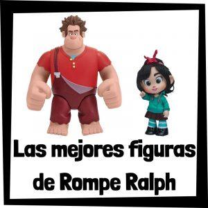 Figuras y muñecos de Rompe Ralph de Disney - Las mejores figuras de colección de Rompe Ralph - Ralph rompe internet - Peluches y juguetes de Rompe Ralph