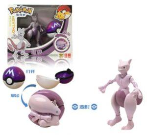 Figura de Mewtwo de Pokemon 3 - Las mejores figuras de Mewtwo de Aliexpress de Pokemon