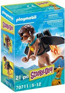 Figura de Scooby Doo de Playmobil 70711 de Piloto - Los mejores sets de playmobil de Scooby-Doo