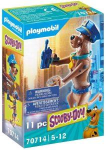 Figura de Scooby Doo de Playmobil 70714 de Policía - Los mejores sets de playmobil de Scooby-Doo
