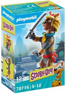 Figura de Scooby Doo de Playmobil 70716 de Samurai - Los mejores sets de playmobil de Scooby-Doo