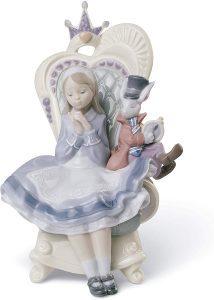 Figura de porcelana de Lladró de Disney de Alicia En El País De Las Maravillas - Las mejores figuras de porcelana de Lladró de Disney