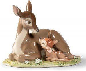 Figura de porcelana de Lladró de Disney de Bambi - Las mejores figuras de porcelana de Lladró de Disney