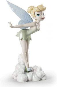 Figura de porcelana de Lladró de Disney de Campanilla - Las mejores figuras de porcelana de Lladró de Disney