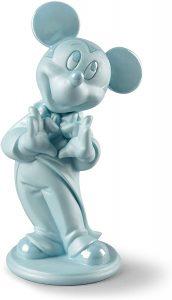 Figura de porcelana de Lladró de Disney de Mickey Mouse Azul - Las mejores figuras de porcelana de Lladró de Disney