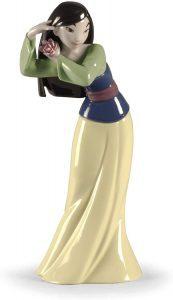 Figura de porcelana de Lladró de Disney de Mulán - Las mejores figuras de porcelana de Lladró de Disney