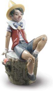 Figura de porcelana de Lladró de Disney de Pinocho - Las mejores figuras de porcelana de Lladró de Disney